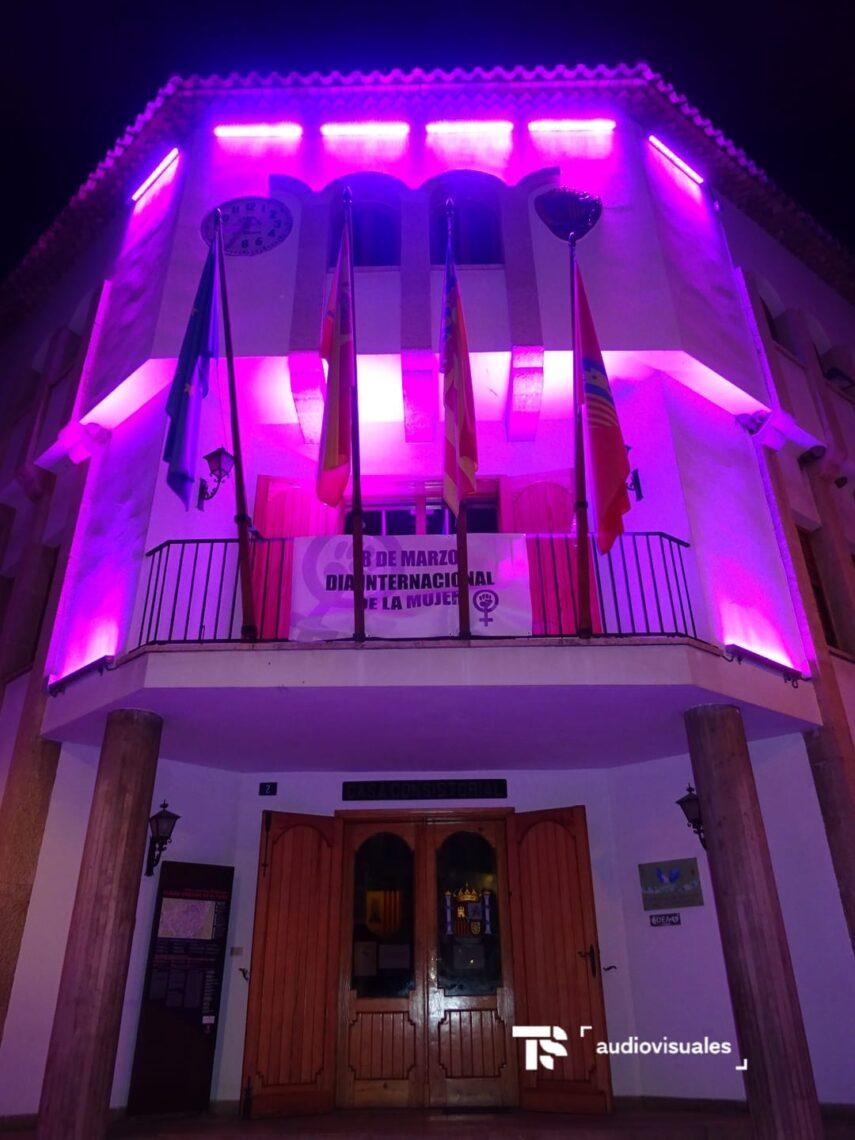 iluminación led de fachadas